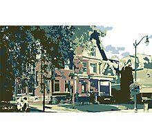 Cedarburg Art Museum - Cedarburg WI (muted) Photographic Print