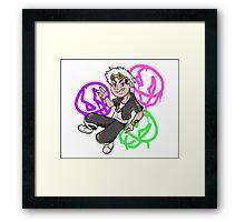 Guzma - Pokemon Framed Print