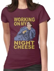 Liz Lemon - Night cheese Womens Fitted T-Shirt