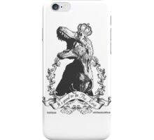 Its Good to be the King (Black and White) iPhone Case/Skin