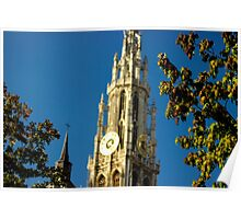 Old Cathedral Between the Trees - Travel Photography Poster