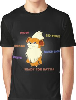 Such Growlithe Graphic T-Shirt