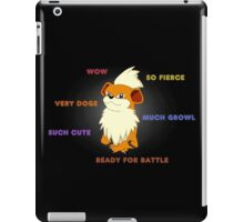 Such Growlithe iPad Case/Skin
