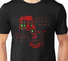 SKULL HELL DOG Unisex T-Shirt