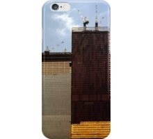 July, 1971 Construction The Twin Towers > iPhone Case/Skin