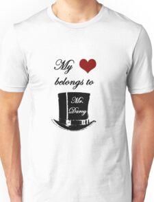 Mr. Darcy Has My Heart Unisex T-Shirt