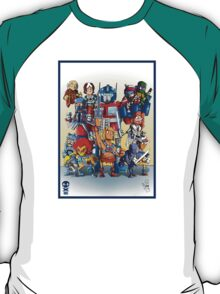80's Cartoon Mashup T-Shirt