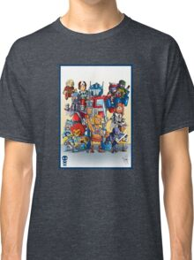 80's Cartoon Mashup Classic T-Shirt