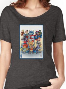80's Cartoon Mashup Women's Relaxed Fit T-Shirt