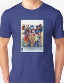 80's Cartoon Mashup Unisex T-Shirt