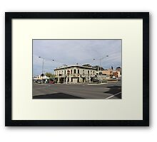 A morning in Castlemaine Framed Print