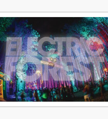 Sherwood Forest - Electric Forest Sticker