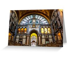 Gare Centrale/ Central Station - Travel Photography Greeting Card