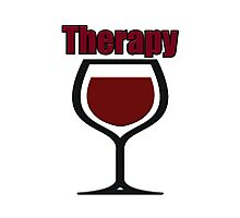 wine therapy Photographic Print