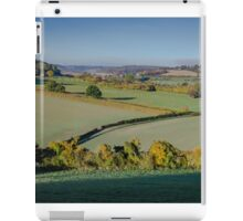 Across the Chilterns from Bledlow Ridge iPad Case/Skin