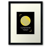 Once Upon A Time In Manchester  Framed Print
