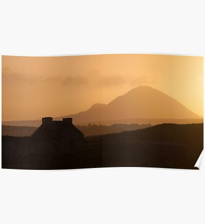 Errigal, Donegal Poster