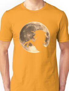 Unicorn, moon, fullmoon, fantasy, magic, horse, fantastic, beast Unisex T-Shirt