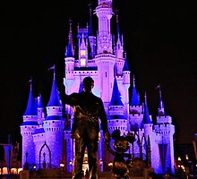 Partners in front of Cinderella Castle by BonnyL