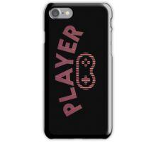 PLAYER (RETRO) iPhone Case/Skin
