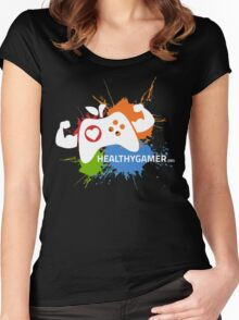 Healthy Gamer 1st Edition Women's Fitted Scoop T-Shirt