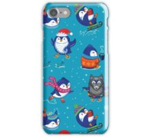 Penguin Time iPhone Case/Skin