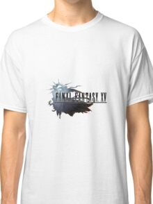 Final Fantasy XV Art FFXV Logo Classic T-Shirt