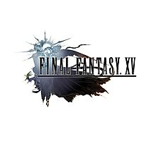 Final Fantasy XV Art FFXV Logo Photographic Print