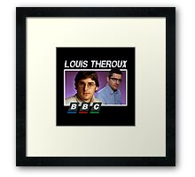 bbc louis theroux Framed Print
