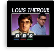 bbc louis theroux Canvas Print