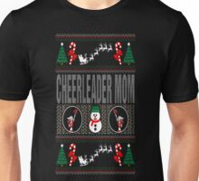 Cheerleader Mom Ugly Christmas Sweater T Shirt T-Shirt Unisex T-Shirt