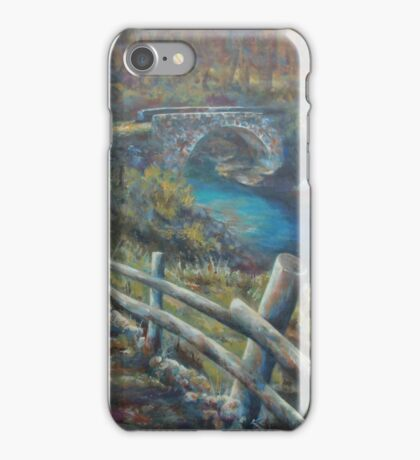 The Forgotten Bridge - Ponte di Napoleone iPhone Case/Skin