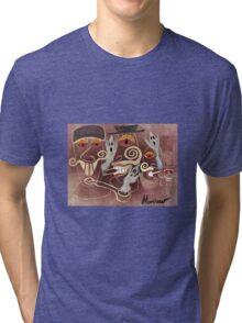Smoking Spirits Tri-blend T-Shirt