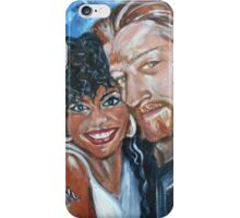 """In Love"" - Interracial Lovers Series by Yesi Casanova iPhone Case/Skin"
