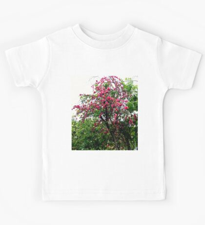 Pink Tree Blossoms Kids Tee