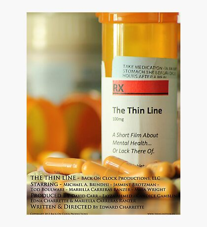 THE THIN LINE Movie Poster Photographic Print