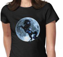Unicorn, moon, fullmoon, fantasy, magic, horse, fantastic, beast Womens Fitted T-Shirt