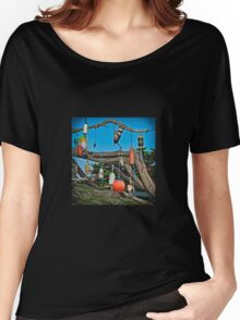 The Battery Lighthouse Buoys Women's Relaxed Fit T-Shirt