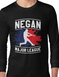 negan - Lucille Long Sleeve T-Shirt