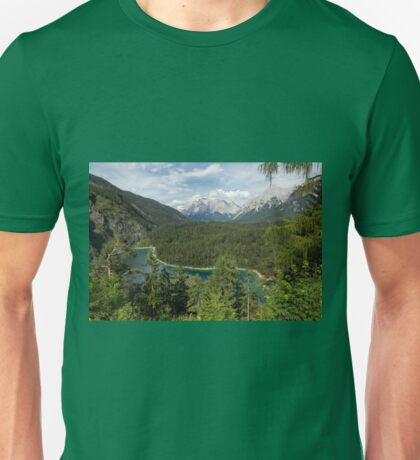 Lake Blindsee and Zugspitze Unisex T-Shirt