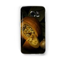 Still life with pumpkin and onions Samsung Galaxy Case/Skin