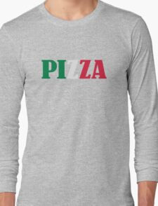 Italian pizza Long Sleeve T-Shirt