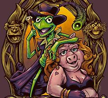 Pig Pimpin Muppets Parody T-Shirt by Brian Allen