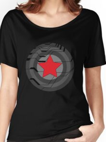 Red Star Shield Women's Relaxed Fit T-Shirt