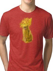 I'm Just Saiyan  Tri-blend T-Shirt