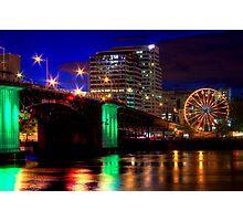 Morrison Street Bridge In Portland Two Photographic Print
