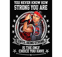 Native Americans Strong Together Photographic Print