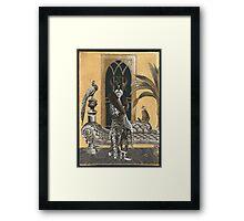 Mme. Ocelot & Babou Framed Print