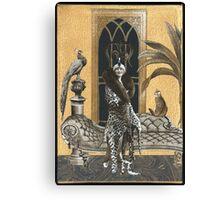 Mme. Ocelot & Babou Canvas Print