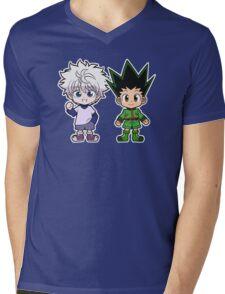 Gon and Killua Mens V-Neck T-Shirt